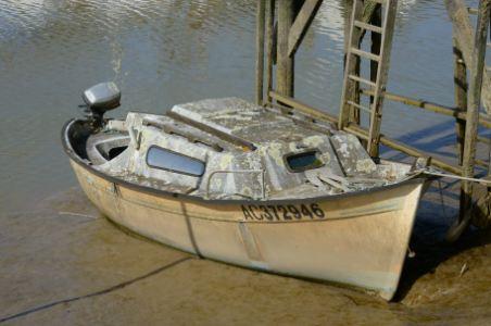 Abandoned Boat, Derelict Boat
