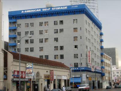 An old urban storage facility
