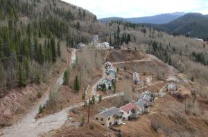 Deserted Houses near the abandoned Gilman mine